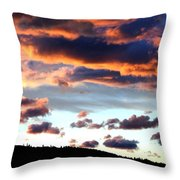 Sunset Supreme Throw Pillow