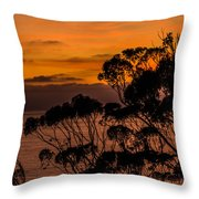 Sunset /torrey Pines Image 2 Throw Pillow