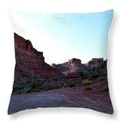 Sunset Tour Valley Of The Gods Utah 07 Throw Pillow