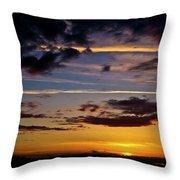 Sunset Vista Throw Pillow