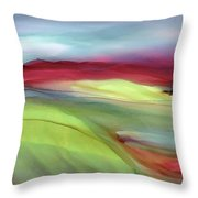 Sunset Western Scotland  Throw Pillow