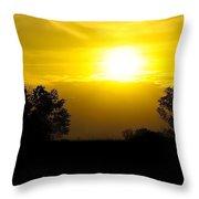 Sunset2 Throw Pillow