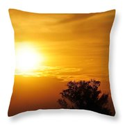 Sunset3 Throw Pillow