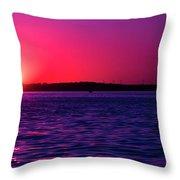 Sunsets Happen Throw Pillow