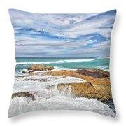 Sunshine Beach, Noosa Throw Pillow