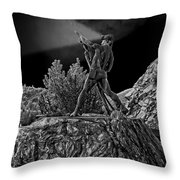 Sunshine Mine Disaster Memorial -  Idaho State Throw Pillow