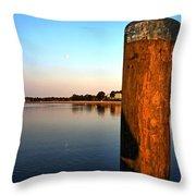 Sunshine On Onset Bay Throw Pillow