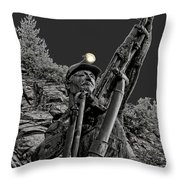 Sunshine Silver Mine Memorial - Kellogg Idaho Throw Pillow