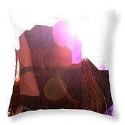 Sunshine State Of Mind Ftg0001 Throw Pillow