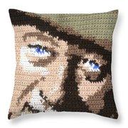 Suntan John Wayne Throw Pillow