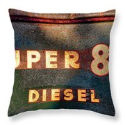Super 88 Diesel Throw Pillow