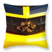 Super Bee Camaro Grill Throw Pillow