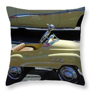 Super Buick Toy Car Throw Pillow