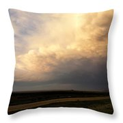 Super Cell 2 Throw Pillow