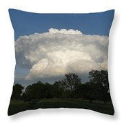Super Cloud Throw Pillow