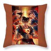 Super Heros  Throw Pillow