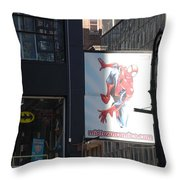 Super Heros Throw Pillow