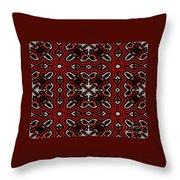 Super Highways Abstract Throw Pillow