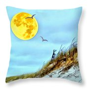 Super Moon 09-27-15 Throw Pillow