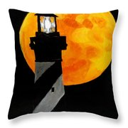 Super Moon Throw Pillow