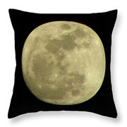 Super Moon March 19 2011 Throw Pillow