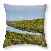 Super Moon Rise Sept. 27, 2015 Throw Pillow