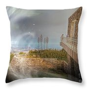 Super Natural Aliens Are Coming Getty Museum  Throw Pillow