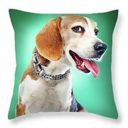 Super Pets Series 1 - Super Buckley Throw Pillow
