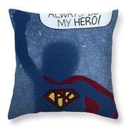 Super Pk Throw Pillow