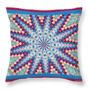 Super Quilt 3 Throw Pillow
