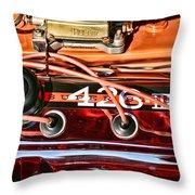 Super Stock Ss 426 IIi Hemi Motor Throw Pillow
