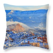 Superb View Of Sunset Point, Bryce Canyon National Park Throw Pillow
