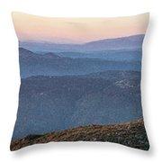 #superbloom Sunset Throw Pillow