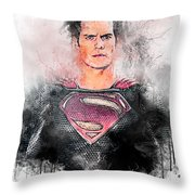 Superhero Throw Pillow