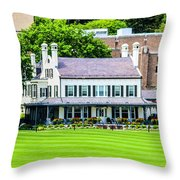 Superintendents House Throw Pillow