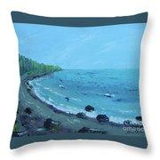 Superior Coast 1 Throw Pillow