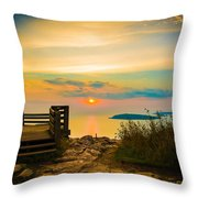 Superior Horizon Throw Pillow