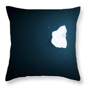 Superior Ice Berg Throw Pillow