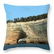 Superior Rock Throw Pillow