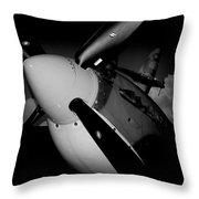 Supermarine Spitfire Mk.ix Throw Pillow
