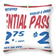 Supermarket Series Four Throw Pillow