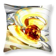 Supernova Abstract Throw Pillow