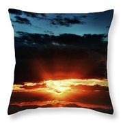 Superstition Sunrise Throw Pillow