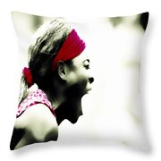 Serena Williams 03c Throw Pillow