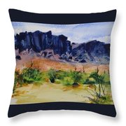 Supperstition Throw Pillow