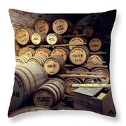 Supplies And Rations Throw Pillow