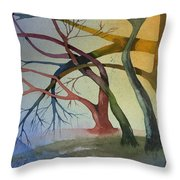 Support And Love Throw Pillow