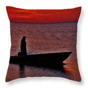 Support Commercial Fishermen 6 411 Throw Pillow