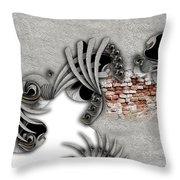 Supposed Emotion Throw Pillow