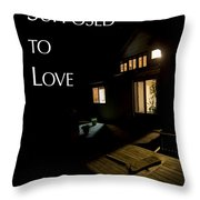 Supposed To Love Book Cover Throw Pillow
